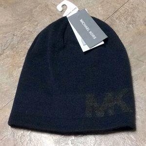 Michael Kors reversible beanie hat